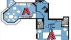Room A - Floor plan.